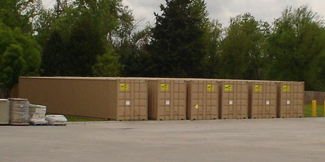 Best Value Mobile Storage LLC storage container rentals on location