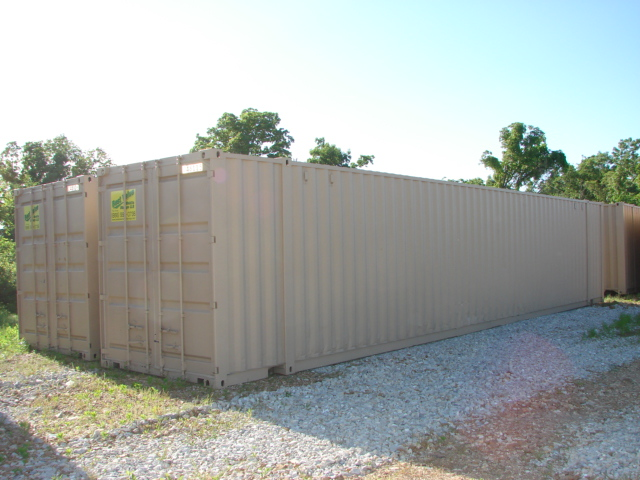 Two rental containers side by side in Springfield, MO