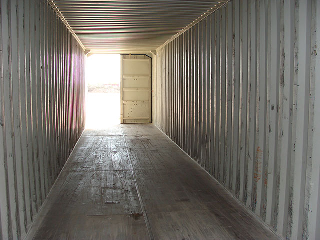 The inside view of a large storage container in Springfield, MO