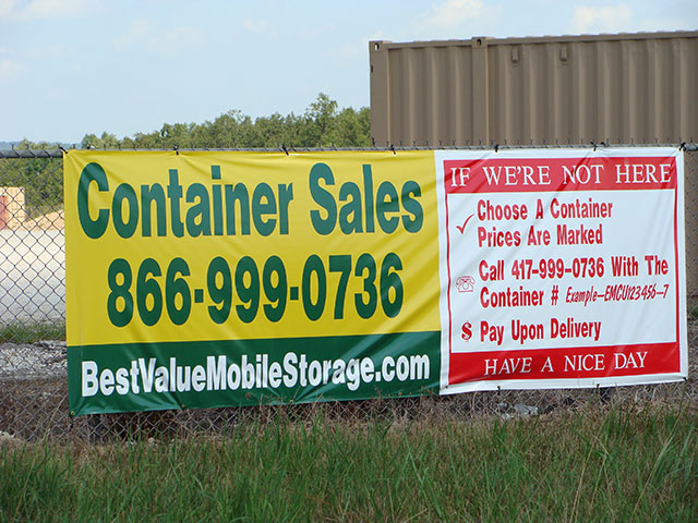 Best Value Mobile Storage LLC  - Call 866-999-0736 for container sales
